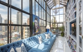 400 East 59th Street, solarium, penthouse, sutton place, co-op