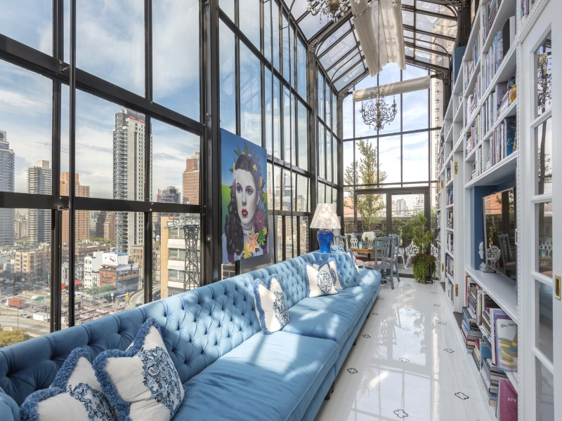 16 million trophy penthouse boasts solarium wrap for Movie schedule terraces