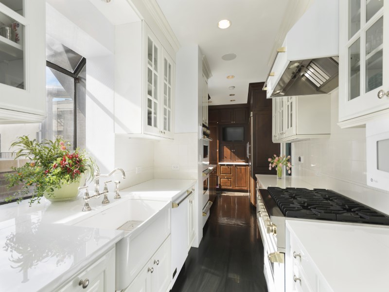 400 East 59th Street, penthouse, kitchen