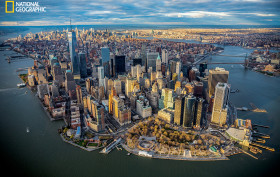 George Steinmetz, New York Air: The View From Above, National Geographic, NYC aerial photography,