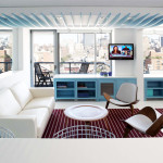 Michael Rubin Architects, chelsea pied a terre, chelsea interior design, mirrors in interior design