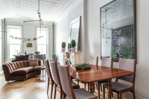 371 9th Street, dining room, short-term rental