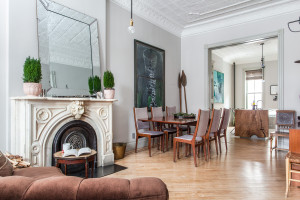 371 9th Street, dining room, park slope, short-term rental