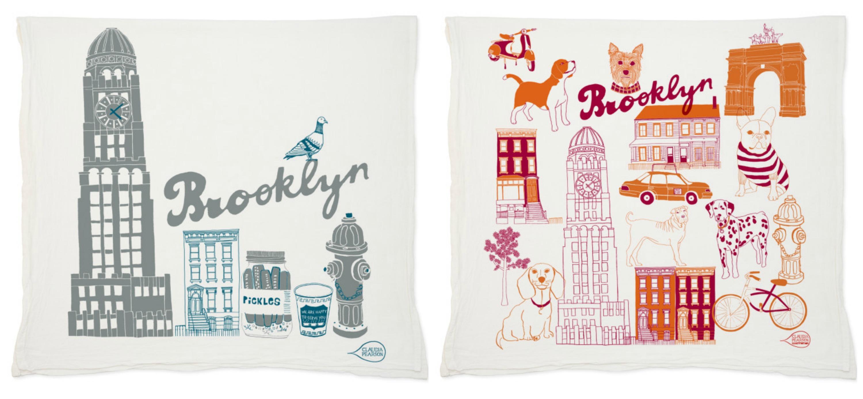 Claudia Pearson, Brooklyn tea towels