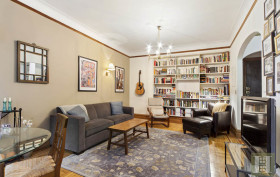790 Riverside Drive, co-op, living room, the riviera