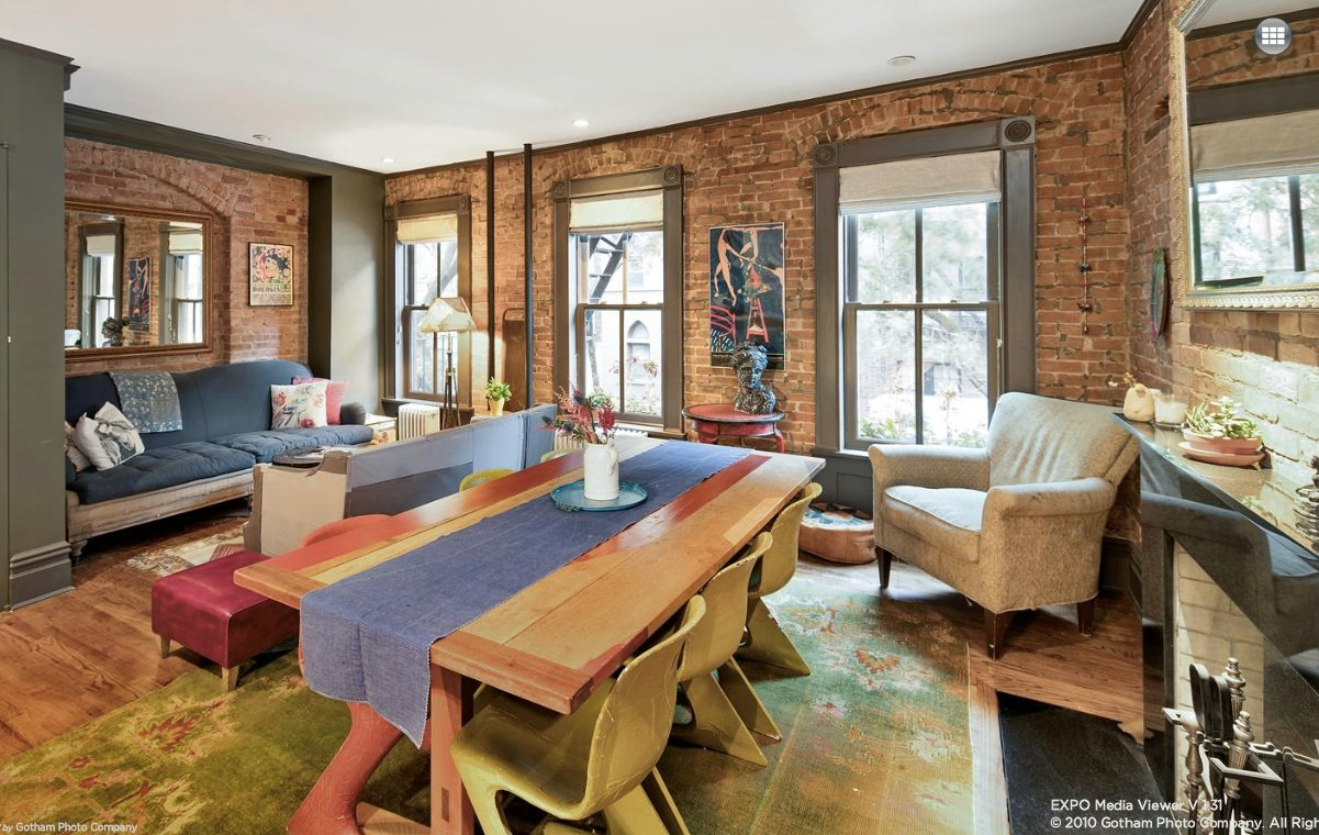 This Greenwich Village Co Op With Exposed Brick And
