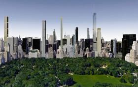 Central Park future skyline, billionaires' row