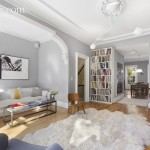 127 Park Place, living room, park slope