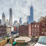 155 duane street, roof deck