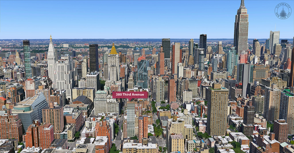 Google Earth, CityRealty 380 Third Avenue, Isaac Stern Architcts, Kips Bay, Manhattan Developments, NYC Real Estate (3)