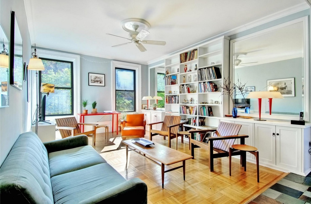 500 West 111th Street, morningside heights, co-op, living room