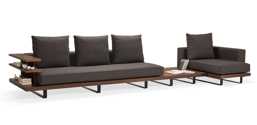 Faruk Malhan 39 S Gazel Sofa Features Modern Wrap Around