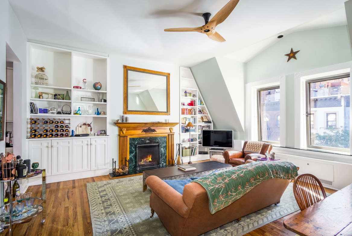 Amy Schumer's Lovely Upper West Side Co-op Lists for $2M