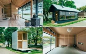 MUJI Hut, tiny houses, Konstantin Grcic, Jasper Morrison, Naoto Fukasawa