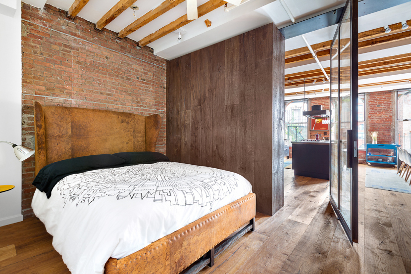 262 Mott Street, rental, furnished, loft, nolita, bedroom