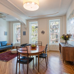 30 south portland, fort greene, brownstone, dining room