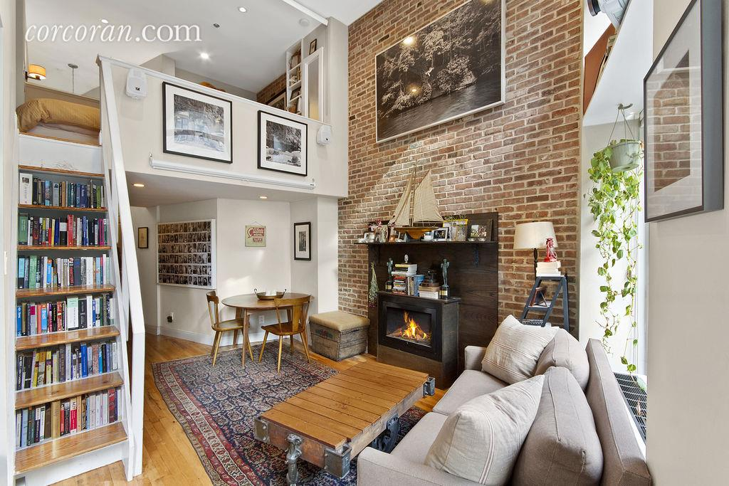 Actor Chris Lowell Sells Double Height Greenwich Village