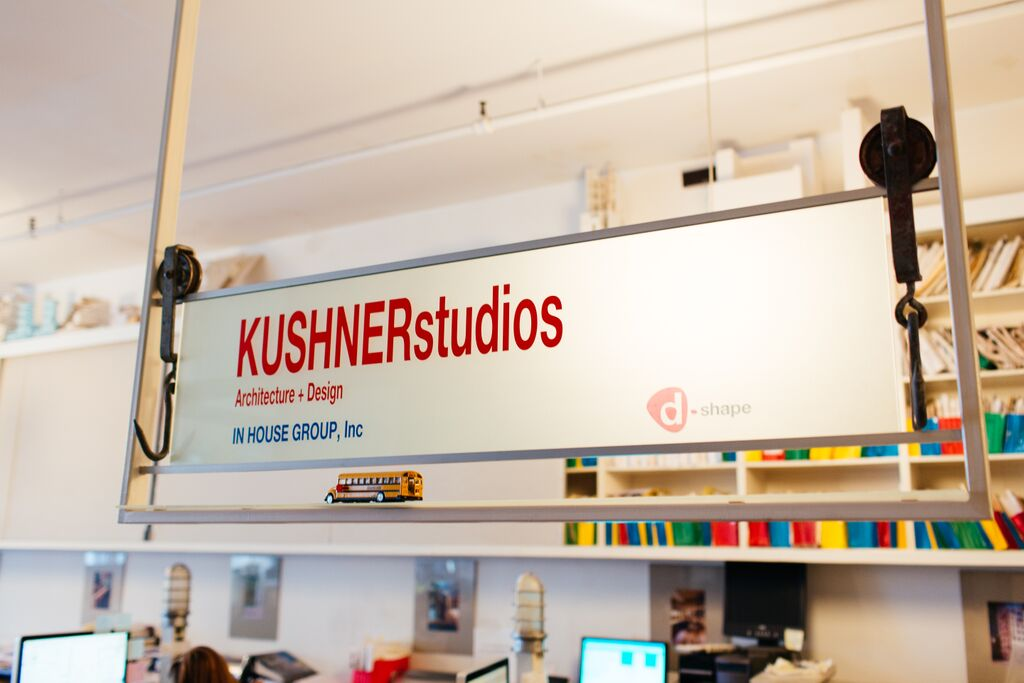KUSHNER Studios, Adam Kushner, NYC architecture offices, In House Group, D-Shape Enterprises