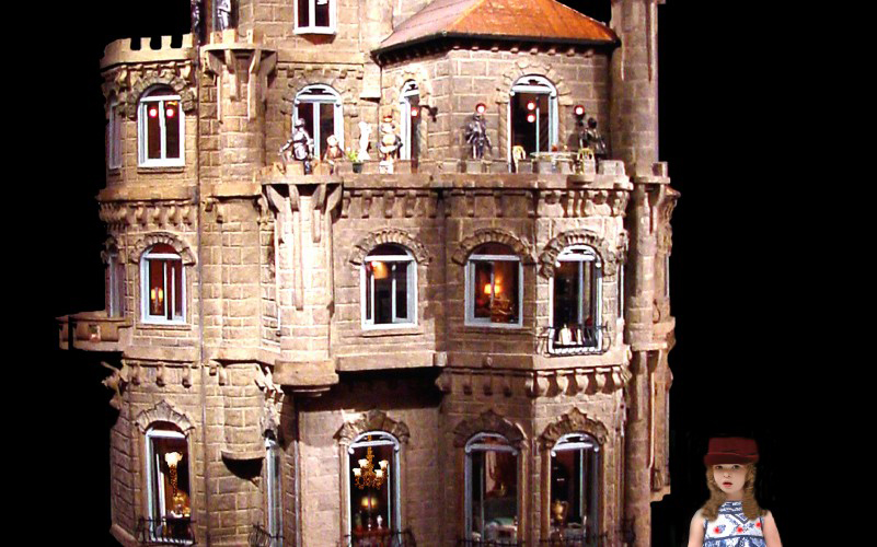 the world's most expensive dollhouse, The Astolat Dollhouse Castle, Elaine Diehl