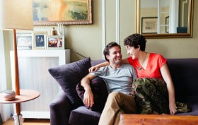 britt liggett, mike cadoux, founder of peak organic, ceo of peak organic, Show the Good, ShowtheGood.com, prospect heights apartment, romantic apartment design, brooklyn interior design, park slope interior design