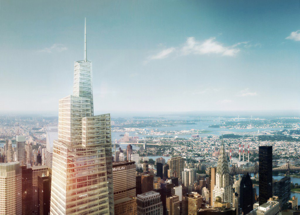 One Vanderbilt, KPF Midtown East, SL Greene, Rezoning, Supertall Skyscrapers (23)