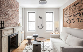 The New Design Project, Upper east side apartment, white apartment design