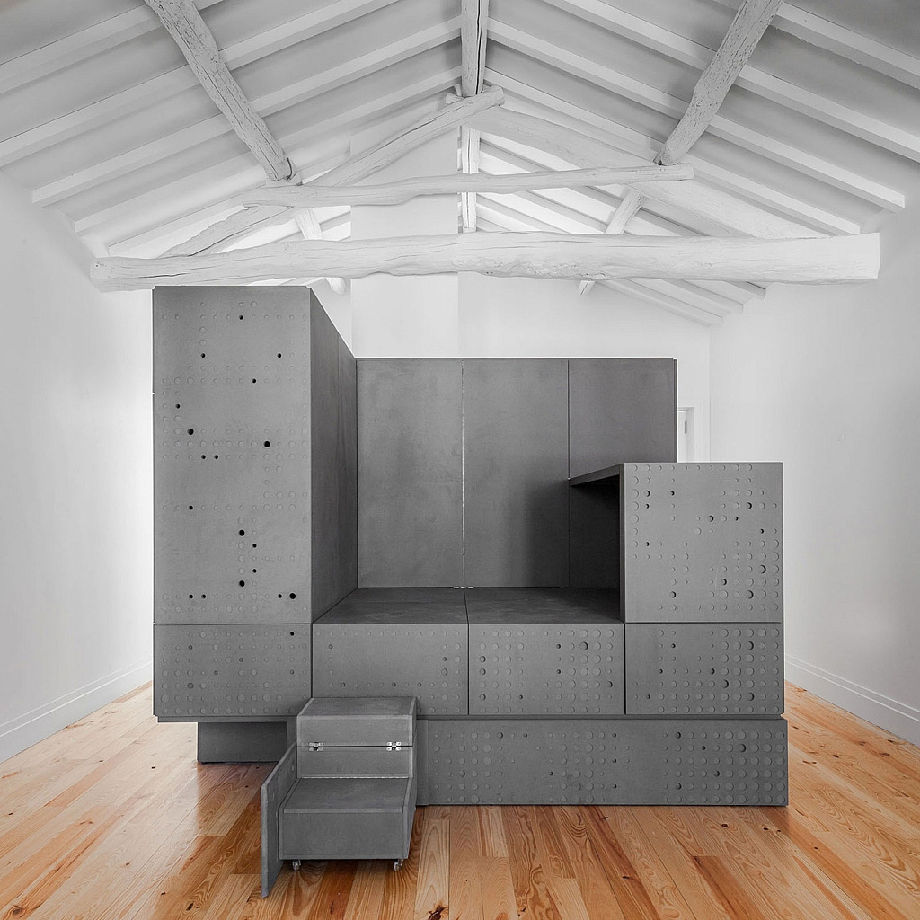 6 Top Interior Design Projects From Porto Portugal: Interior Steel Boxes From OODA Can Transform Any Open