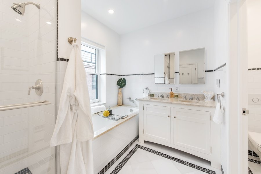 142 East End Avenue, bathroom, townhouse, yorkville, renovation