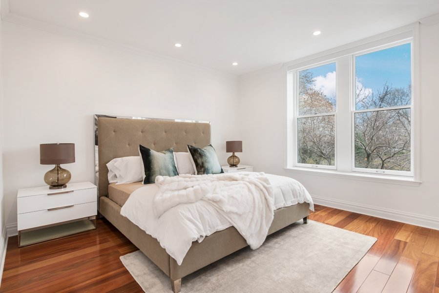 142 East End Avenue, master bedroom, townhouse, renovation, yorkville