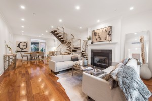 142 East End Avenue, Upper East Side, townhouse, yorkville, landmark, living room