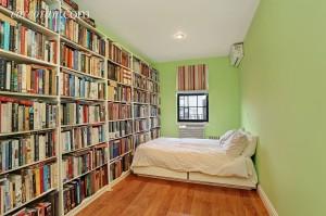 118 St. Marks Place, second bedroom, duplex, rental, park slope