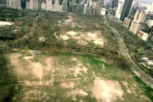 Central Park aerial view, Central Park Conservancy, Central Park 1980s