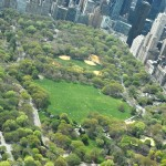 Central Park aerial view, Central Park Conservancy