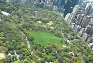 Central Park aerial view, Central Park Conservancy