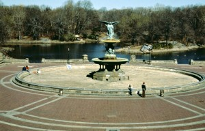 Bethesda Fountain, Central Park Conservancy, Central Park 1980s