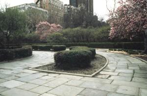 Central Park Conservatory Garden, Central Park Conservancy, Central Park 1980s