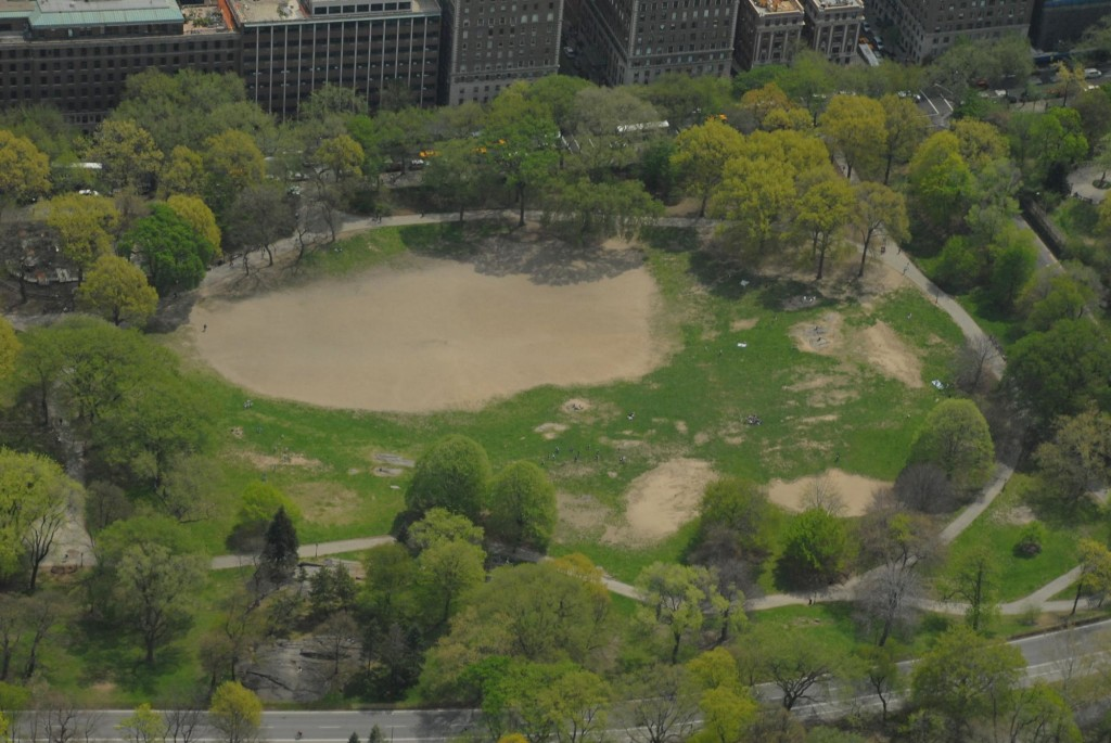 Central Park East Meadow, Central Park 1980s, Central Park Conservancy