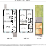 288 Chauncey Street, floorplan, backyard, shotgun house, bed-stuy