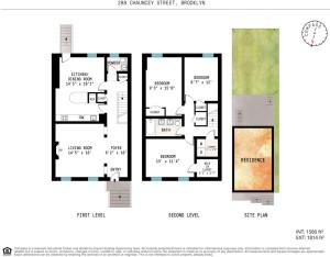 288 Chauncey Street, floorplan, backyard, shotgun house, bed-stuy