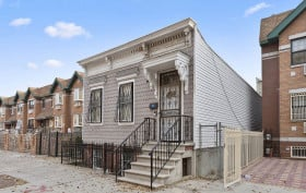 288 Chauncey Street, shotgun house, Bed-Stuy, townhouse