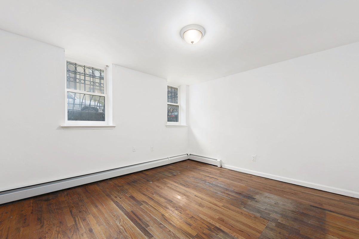 288 Chancey Street, bedroom, bed-stuy, shotgun house, renovation