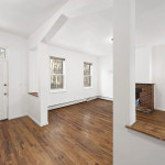 288 Chauncey Street, shotgun house, living room, renovation