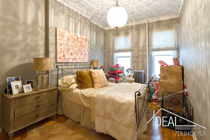 416 henry street, master bedroom, rental, cobble hill