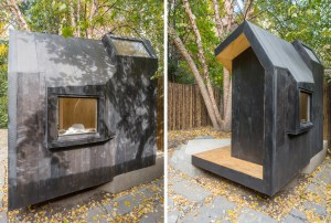 Architensions, Writing Pavilion, Brooklyn backyards, writers retreat