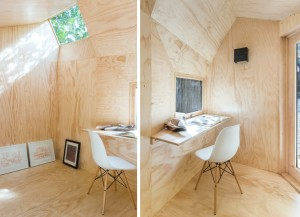 Architensions, Writing Pavilion, Brooklyn backyards, writers retreat