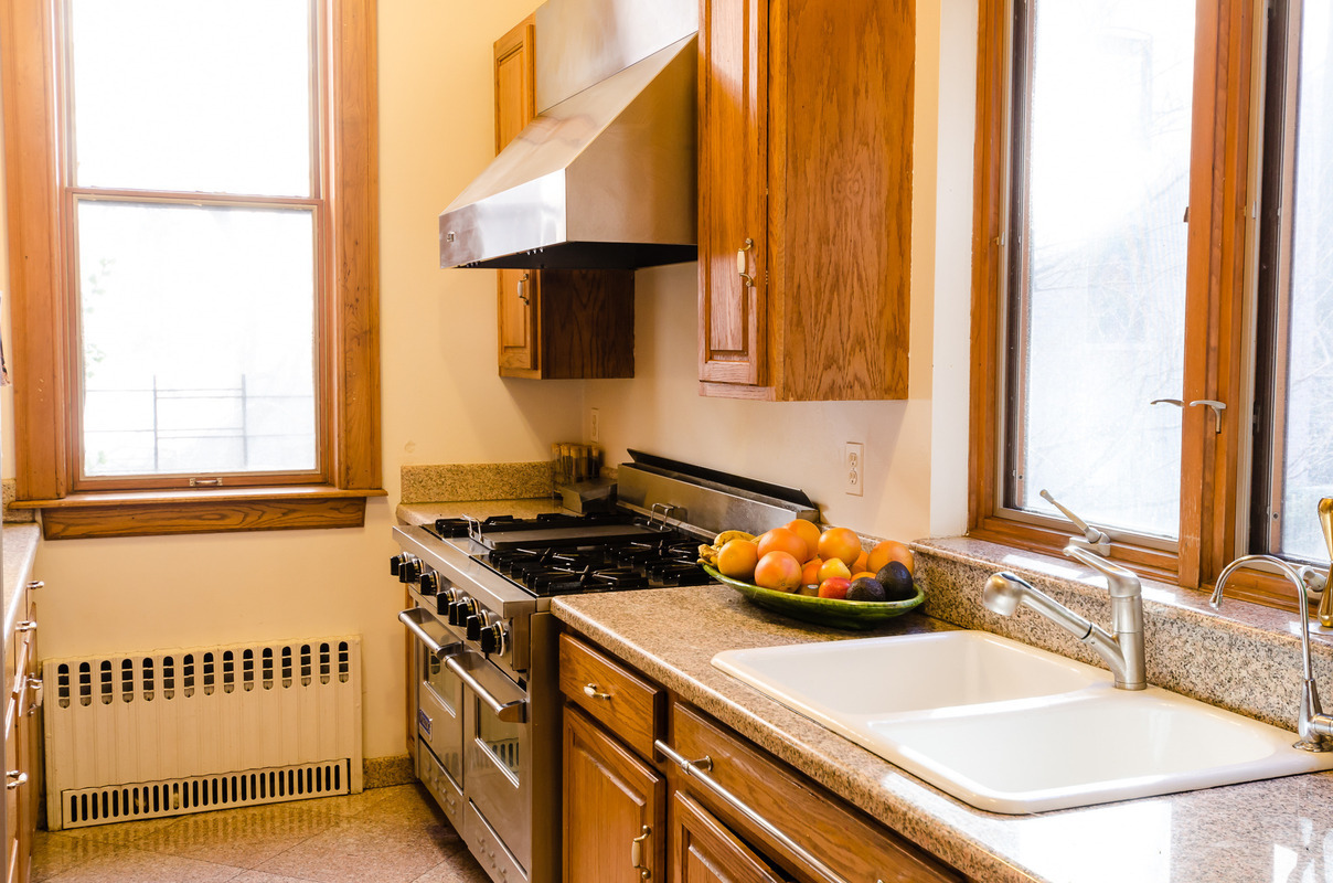 315 west 78th street, kitchen, upper west side townhouse, rental