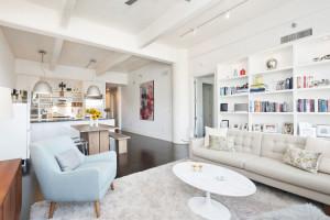 70 Washington Street, open kitchen, condo, loft