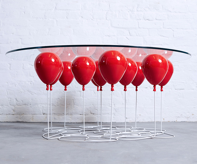 duffy london, balloon table