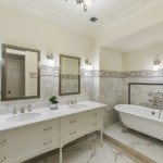 master bathroom, 64 West 87th Street