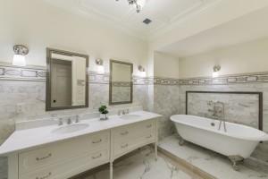 master bathroom, 64 West 87th Street